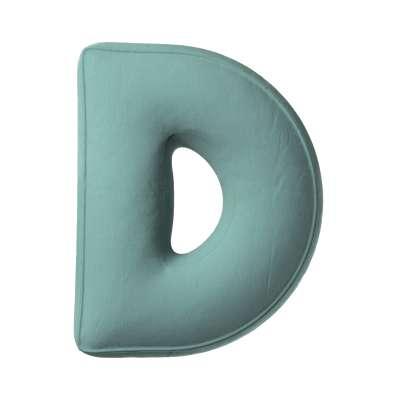 Buchstabenkissen D