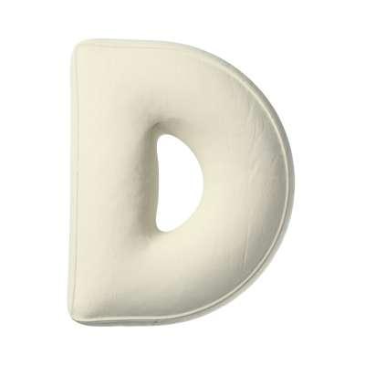 Polštář písmenko D v kolekci Posh Velvet, látka: 704-10