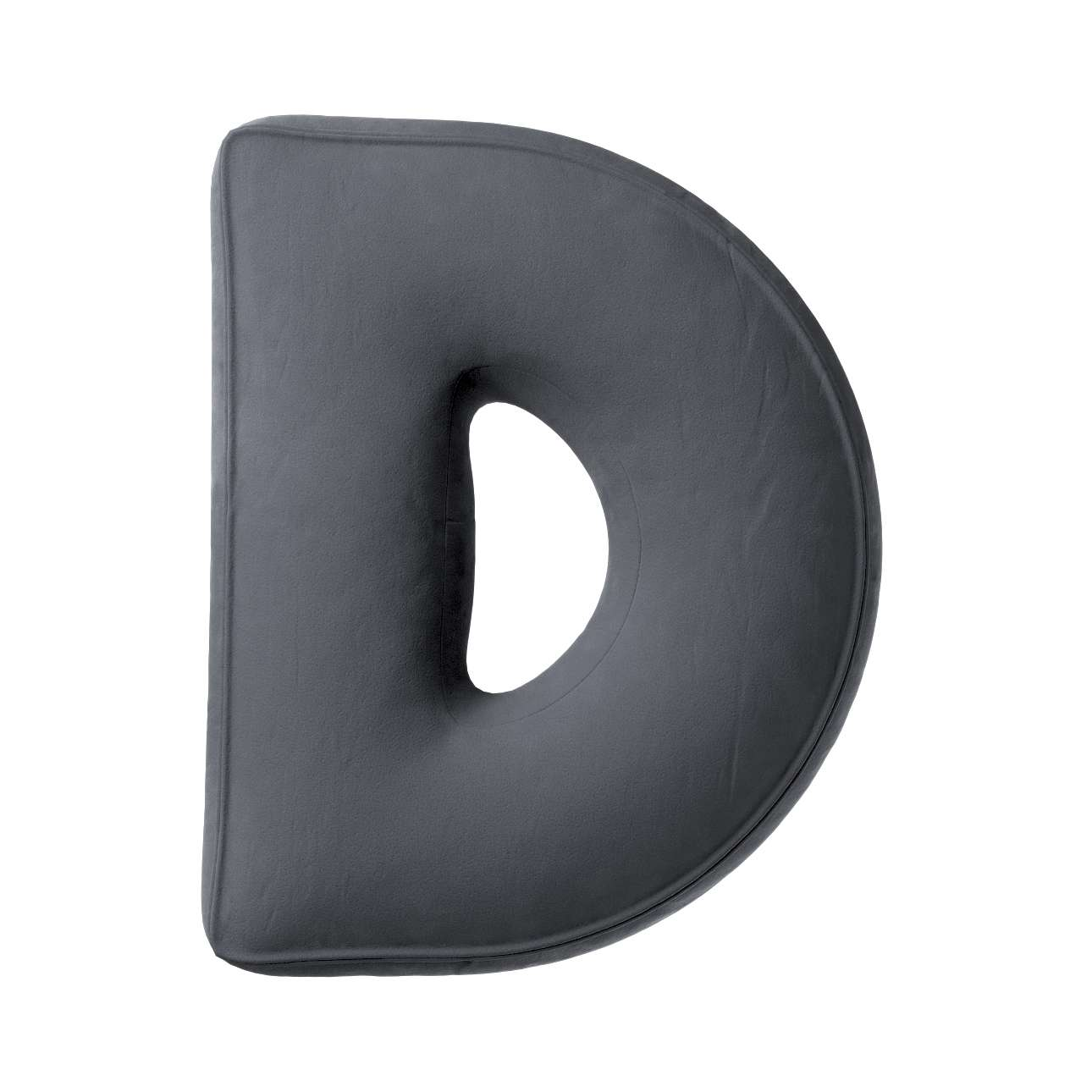 Raidė pagalvėlė D kolekcijoje Posh Velvet, audinys: 704-12