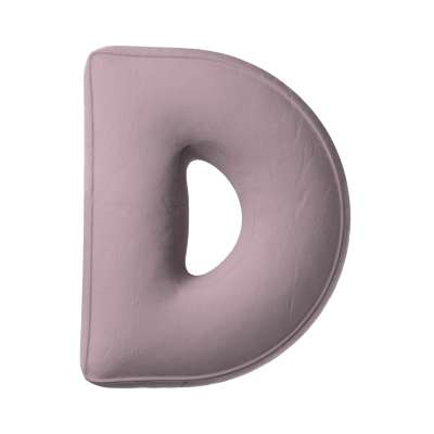 Raidė pagalvėlė D kolekcijoje Posh Velvet, audinys: 704-14