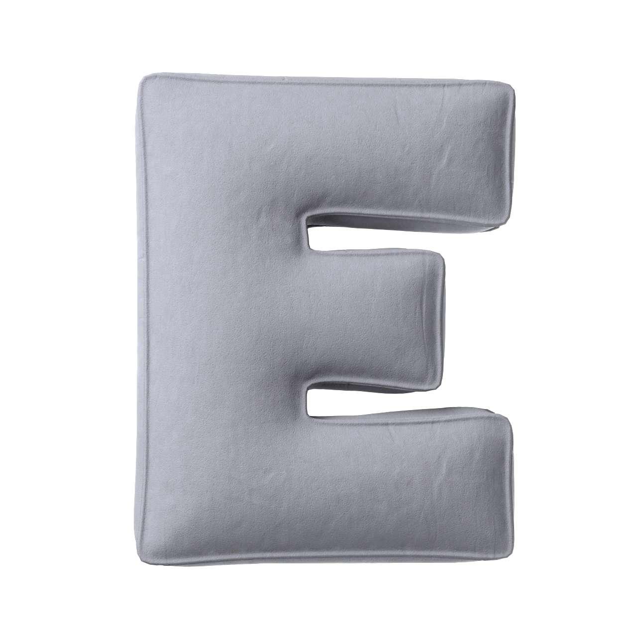 Raidė pagalvėlė E kolekcijoje Posh Velvet, audinys: 704-24