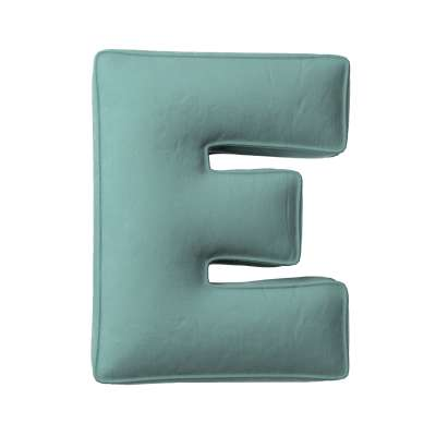 Raidė pagalvėlė E kolekcijoje Posh Velvet, audinys: 704-18