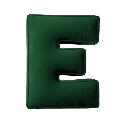 Raidė pagalvėlė E kolekcijoje Posh Velvet, audinys: 704-13