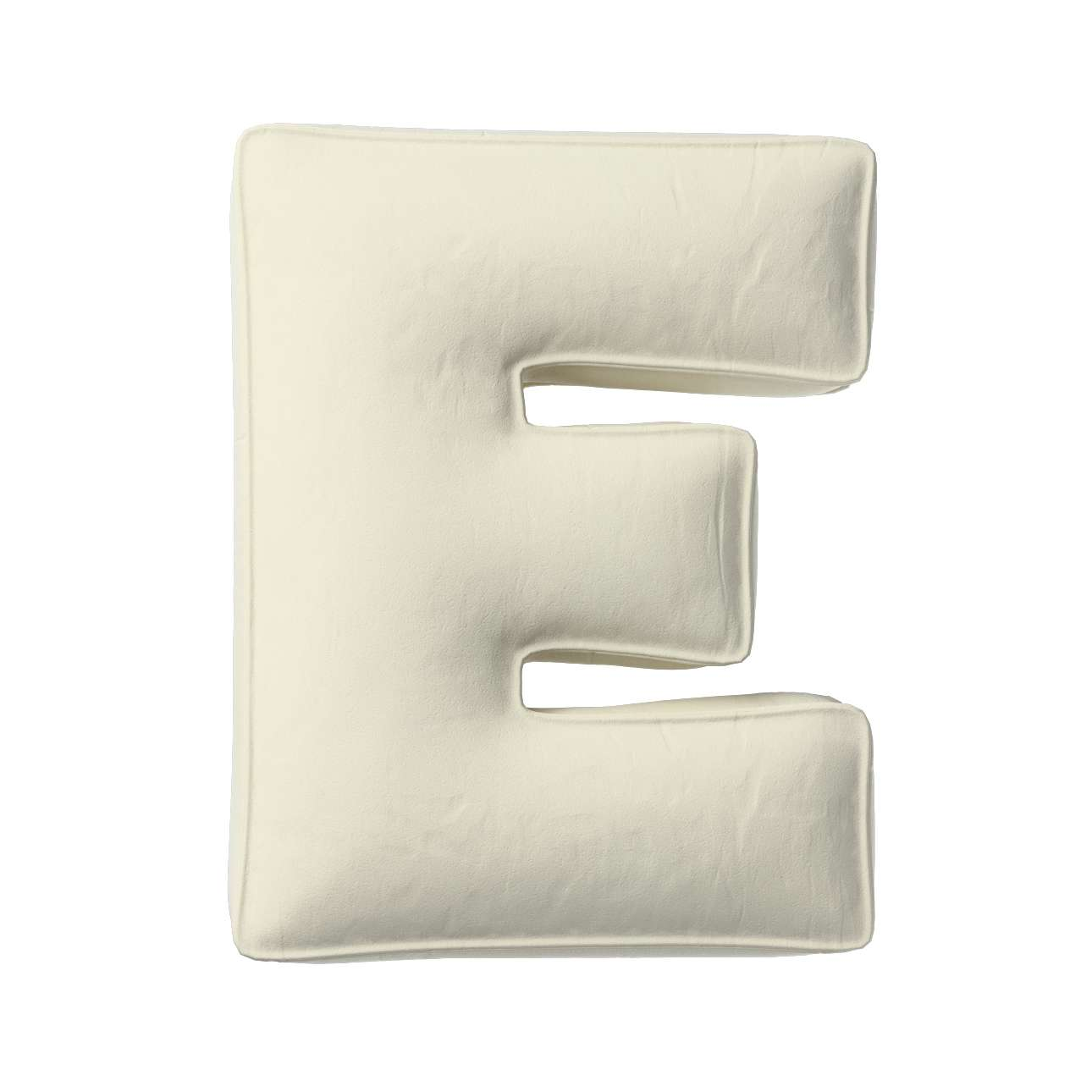 Raidė pagalvėlė E kolekcijoje Posh Velvet, audinys: 704-10