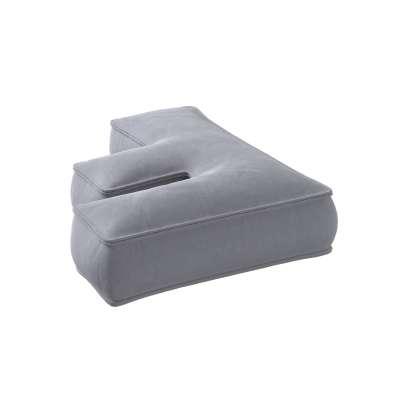 Raidė pagalvėlė F kolekcijoje Posh Velvet, audinys: 704-24