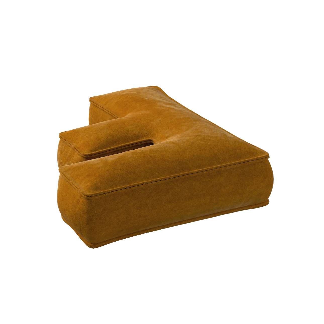 Raidė pagalvėlė F kolekcijoje Posh Velvet, audinys: 704-23