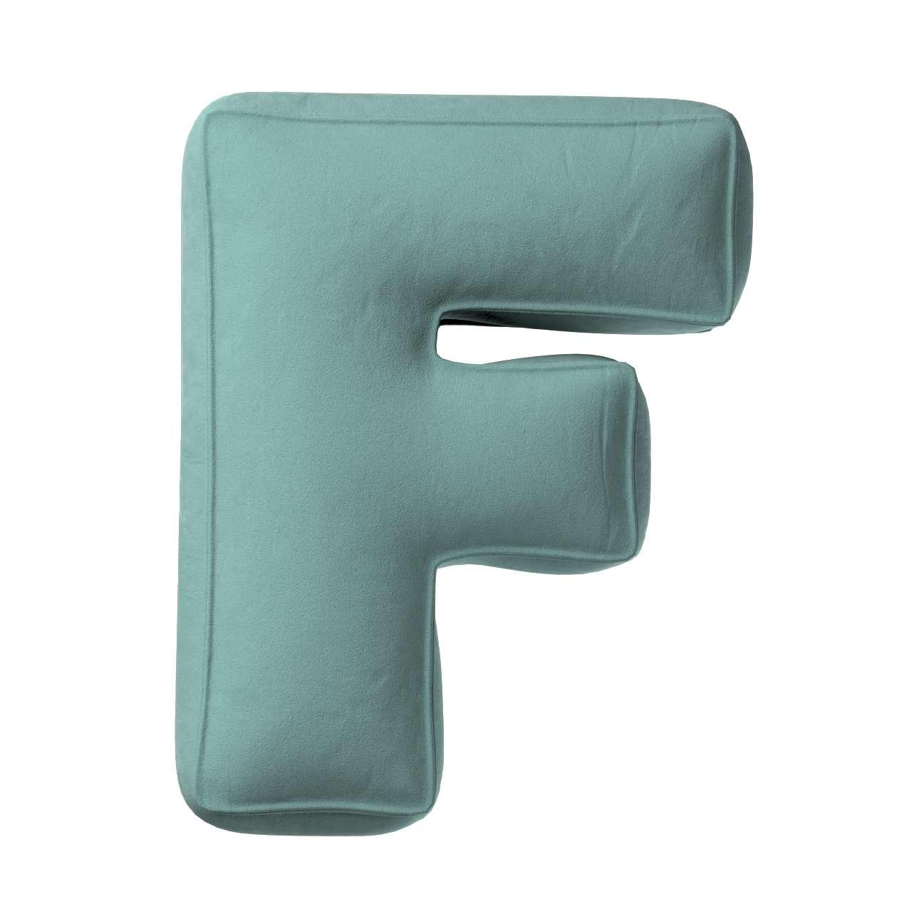 Raidė pagalvėlė F kolekcijoje Posh Velvet, audinys: 704-18