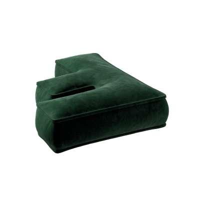 Raidė pagalvėlė F kolekcijoje Posh Velvet, audinys: 704-13