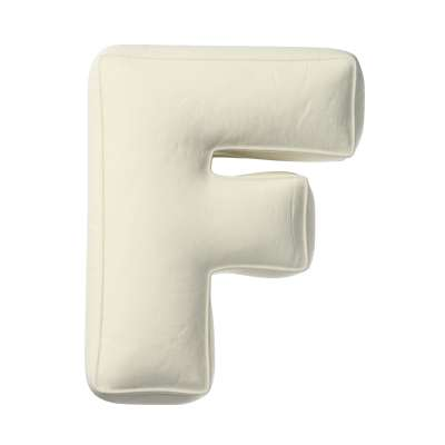 Raidė pagalvėlė F kolekcijoje Posh Velvet, audinys: 704-10