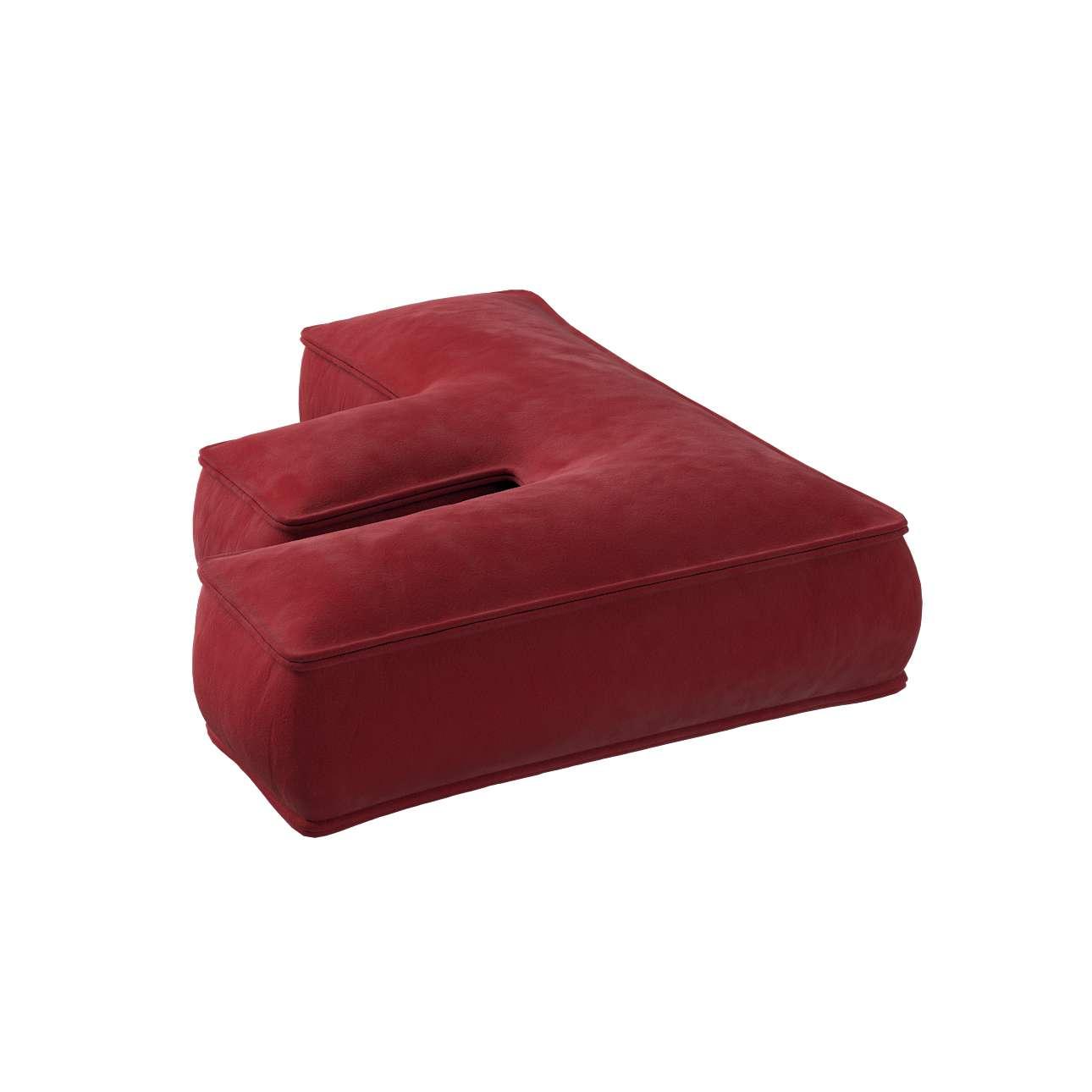 Raidė pagalvėlė F kolekcijoje Posh Velvet, audinys: 704-15