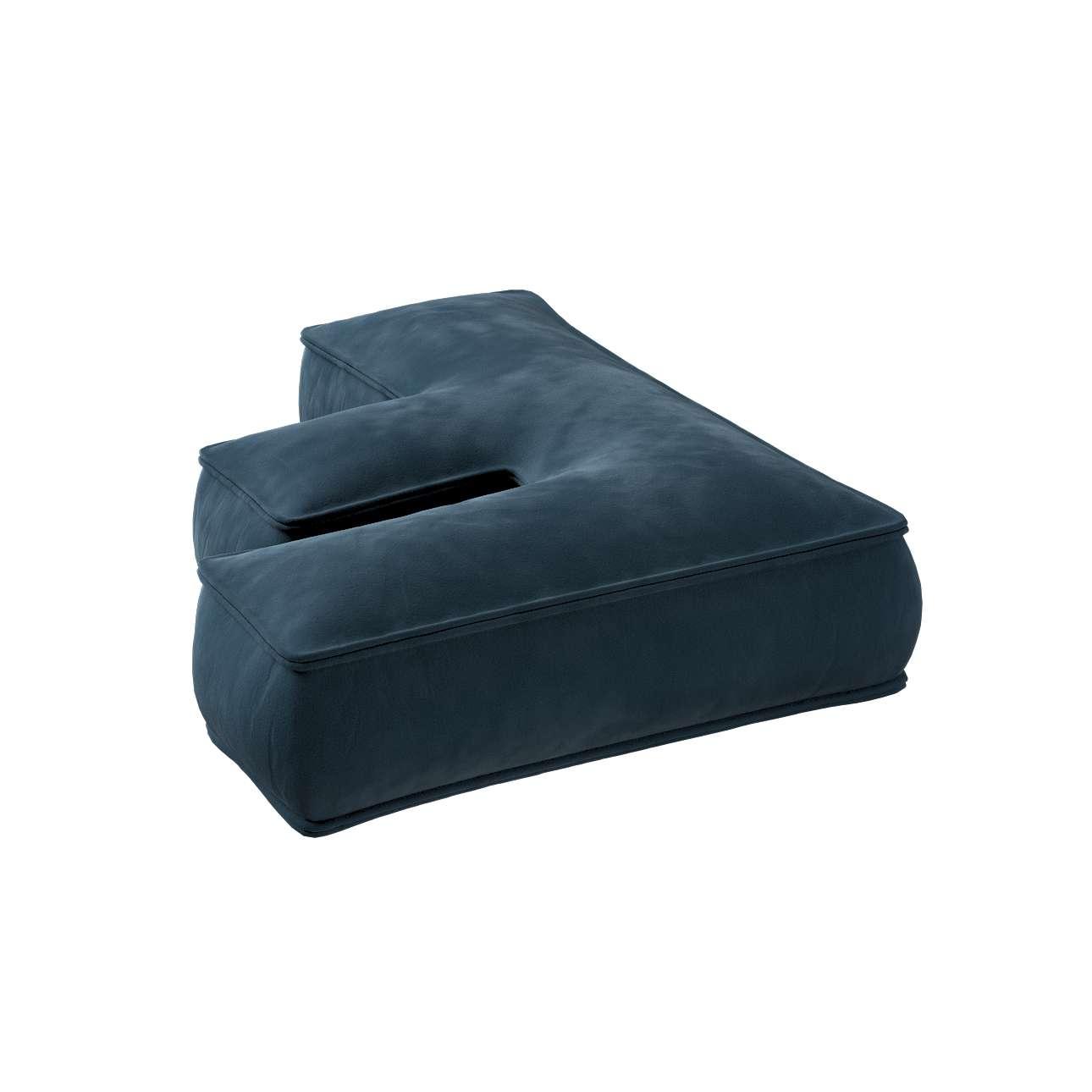 Raidė pagalvėlė F kolekcijoje Posh Velvet, audinys: 704-16