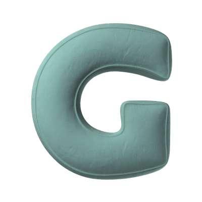 Buchstabenkissen G 704-18 Kollektion Posh Velvet