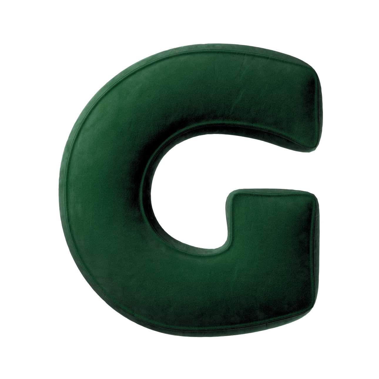 Raidė pagalvėlė G kolekcijoje Posh Velvet, audinys: 704-13