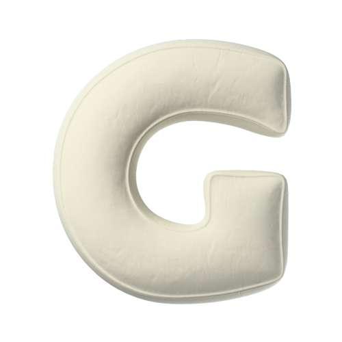 Buchstabenkissen G