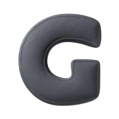 Raidė pagalvėlė G kolekcijoje Posh Velvet, audinys: 704-12