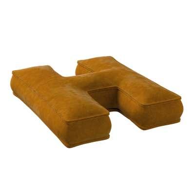 Raidė pagalvėlė H kolekcijoje Posh Velvet, audinys: 704-23