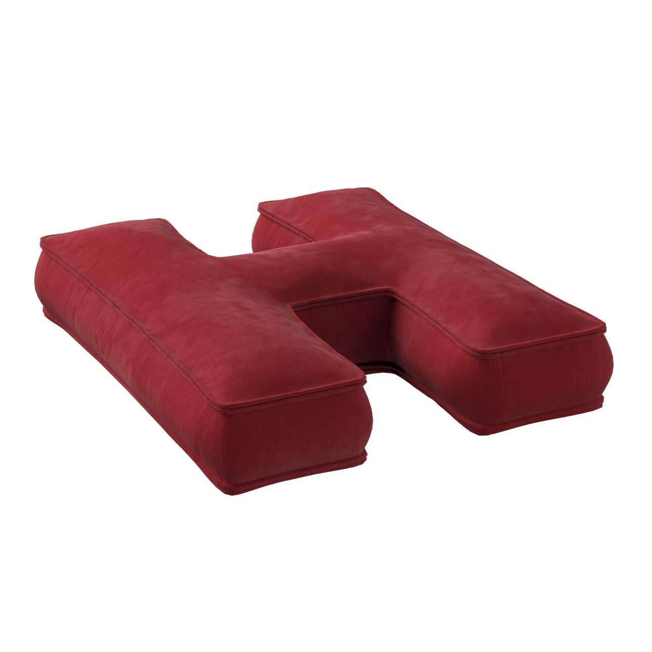 Raidė pagalvėlė H kolekcijoje Posh Velvet, audinys: 704-15
