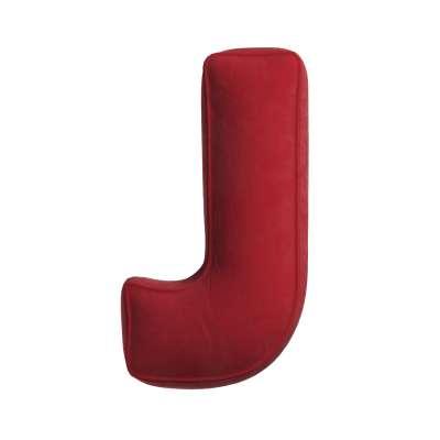 Letter pillow J