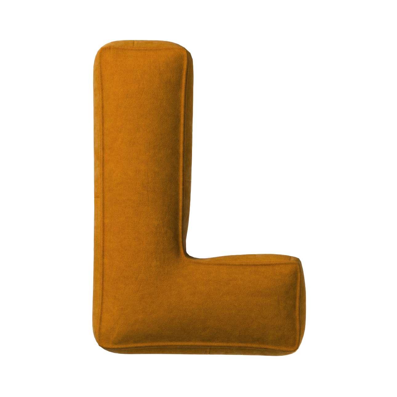 Raidė pagalvėlė L kolekcijoje Posh Velvet, audinys: 704-23