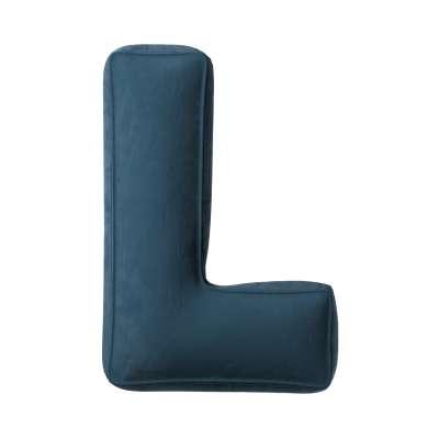 Raidė pagalvėlė L kolekcijoje Posh Velvet, audinys: 704-16