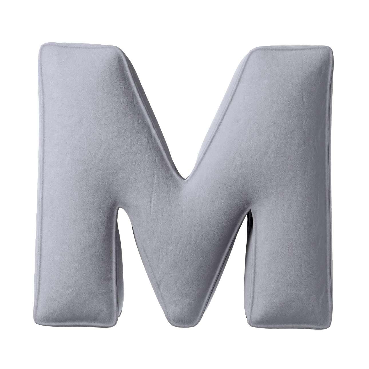 Raidė pagalvėlė M kolekcijoje Posh Velvet, audinys: 704-24