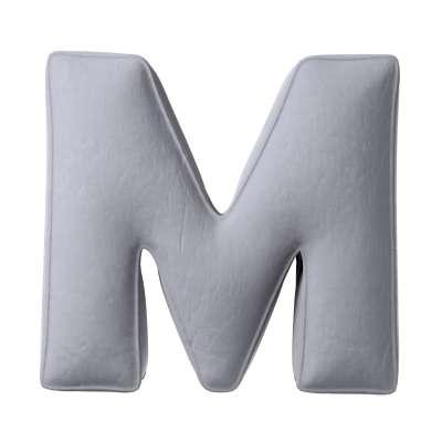 Polštář písmenko M 704-24 Kolekce Posh Velvet