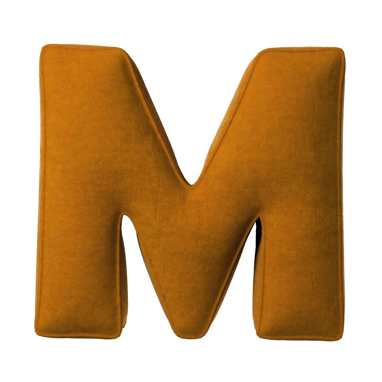 Raidė pagalvėlė M kolekcijoje Posh Velvet, audinys: 704-23