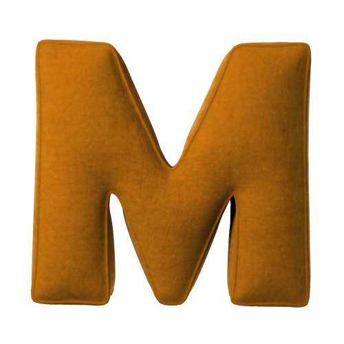 Letter pillow M
