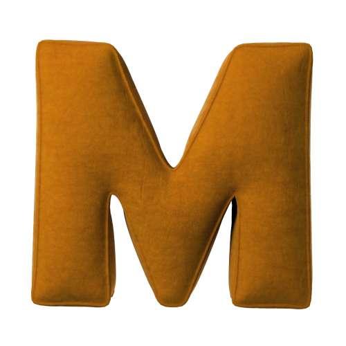 Polštář písmenko M