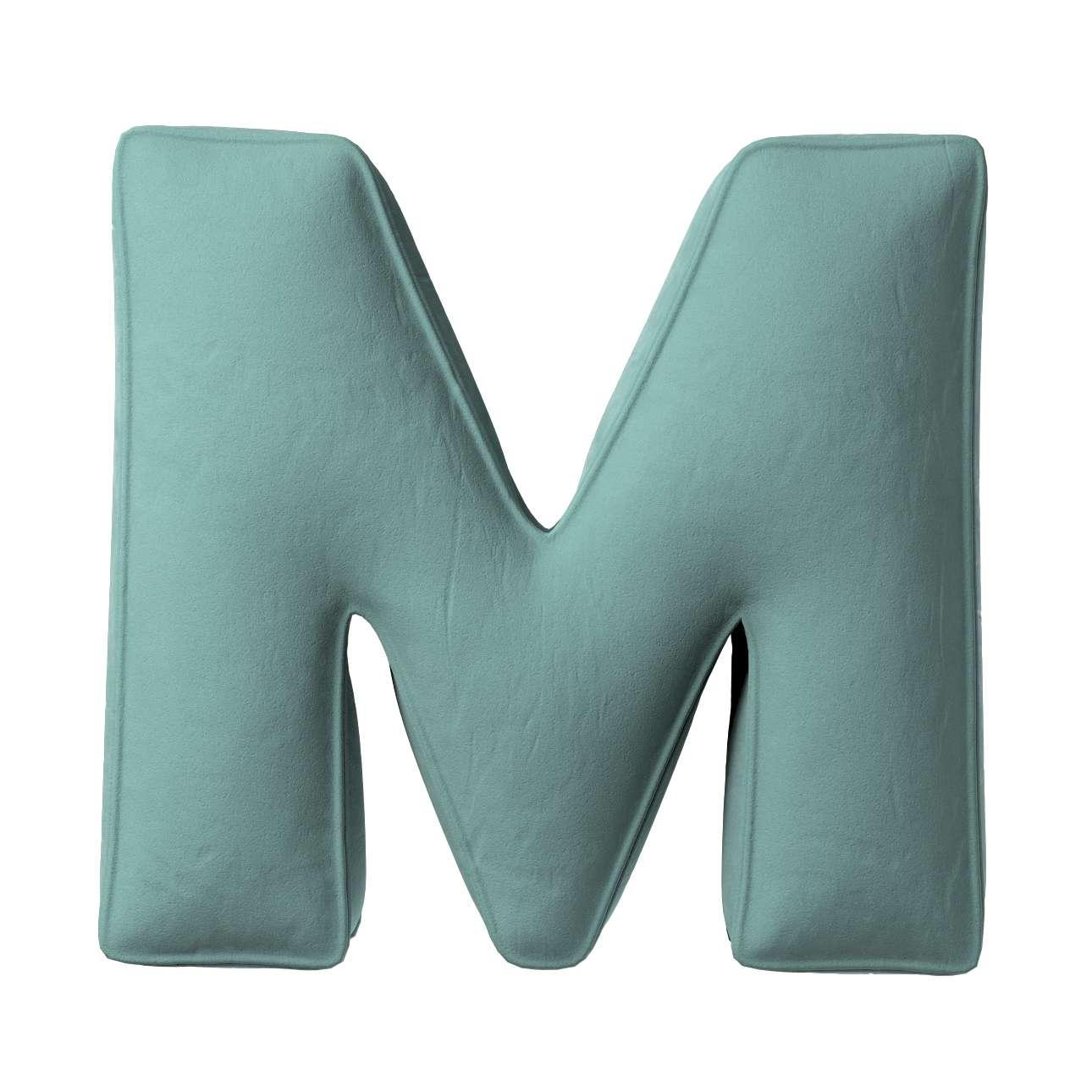 Raidė pagalvėlė M kolekcijoje Posh Velvet, audinys: 704-18