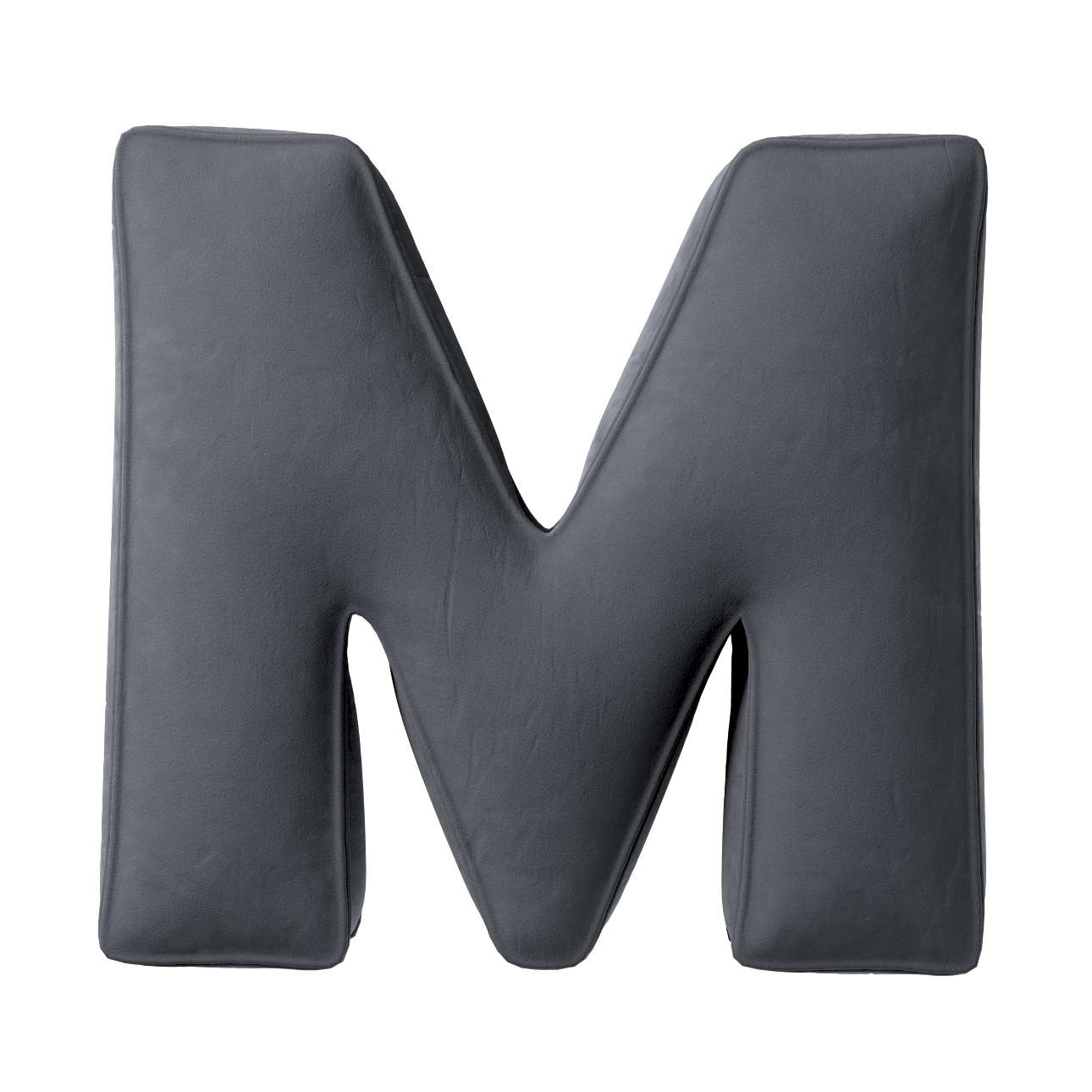 Raidė pagalvėlė M kolekcijoje Posh Velvet, audinys: 704-12