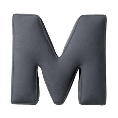 Poduszka literka M 704-12 Kolekcja Posh Velvet