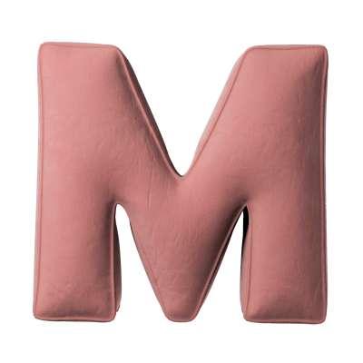 Raidė pagalvėlė M kolekcijoje Posh Velvet, audinys: 704-30