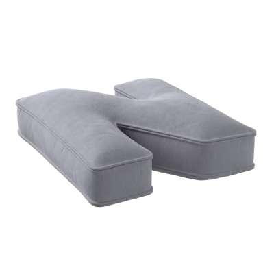 Raidė pagalvėlė N 704-24 pilka-sidabrinė Kolekcija Posh Velvet