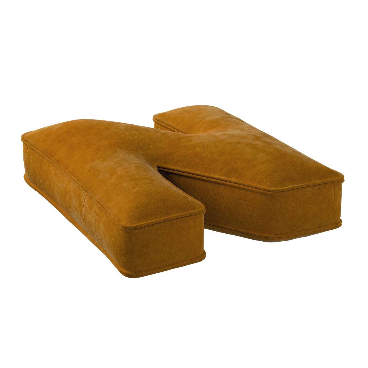 Raidė pagalvėlė N kolekcijoje Posh Velvet, audinys: 704-23