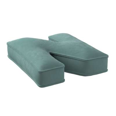 Raidė pagalvėlė N kolekcijoje Posh Velvet, audinys: 704-18