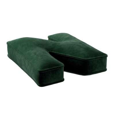 Raidė pagalvėlė N 704-13 žalia Kolekcija Posh Velvet