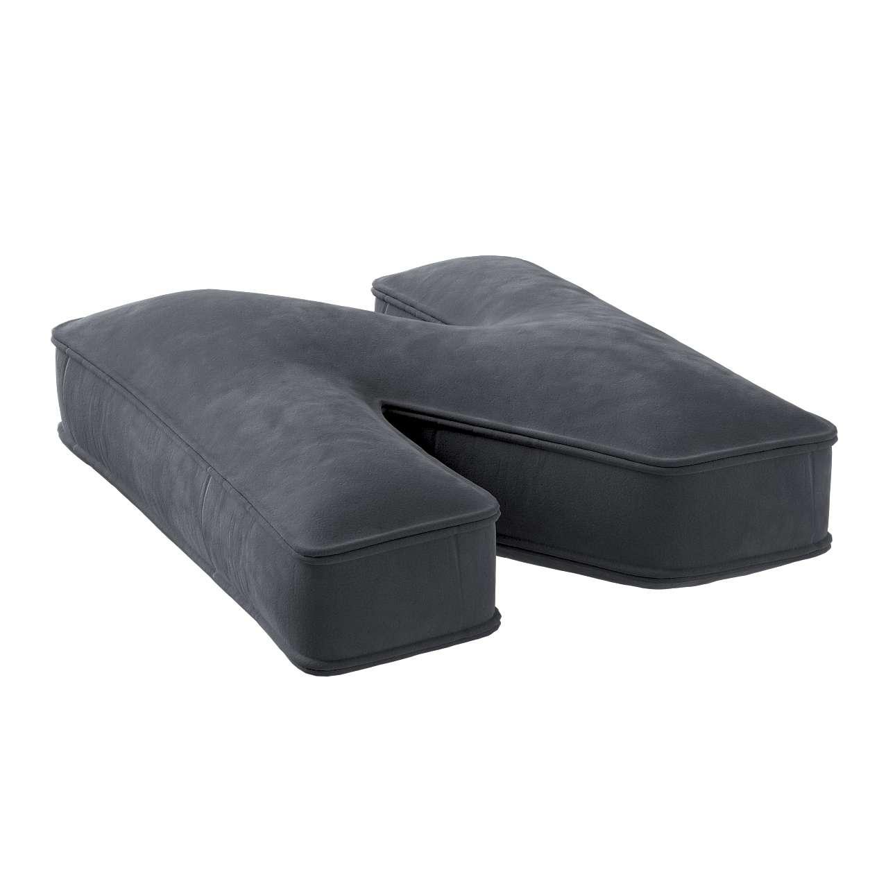 Raidė pagalvėlė N kolekcijoje Posh Velvet, audinys: 704-12