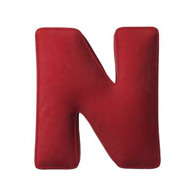 Raidė pagalvėlė N 704-15 raudona Kolekcija Posh Velvet