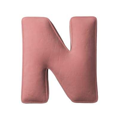 Buchstabenkissen N