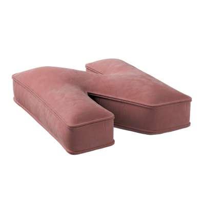 Raidė pagalvėlė N kolekcijoje Posh Velvet, audinys: 704-30