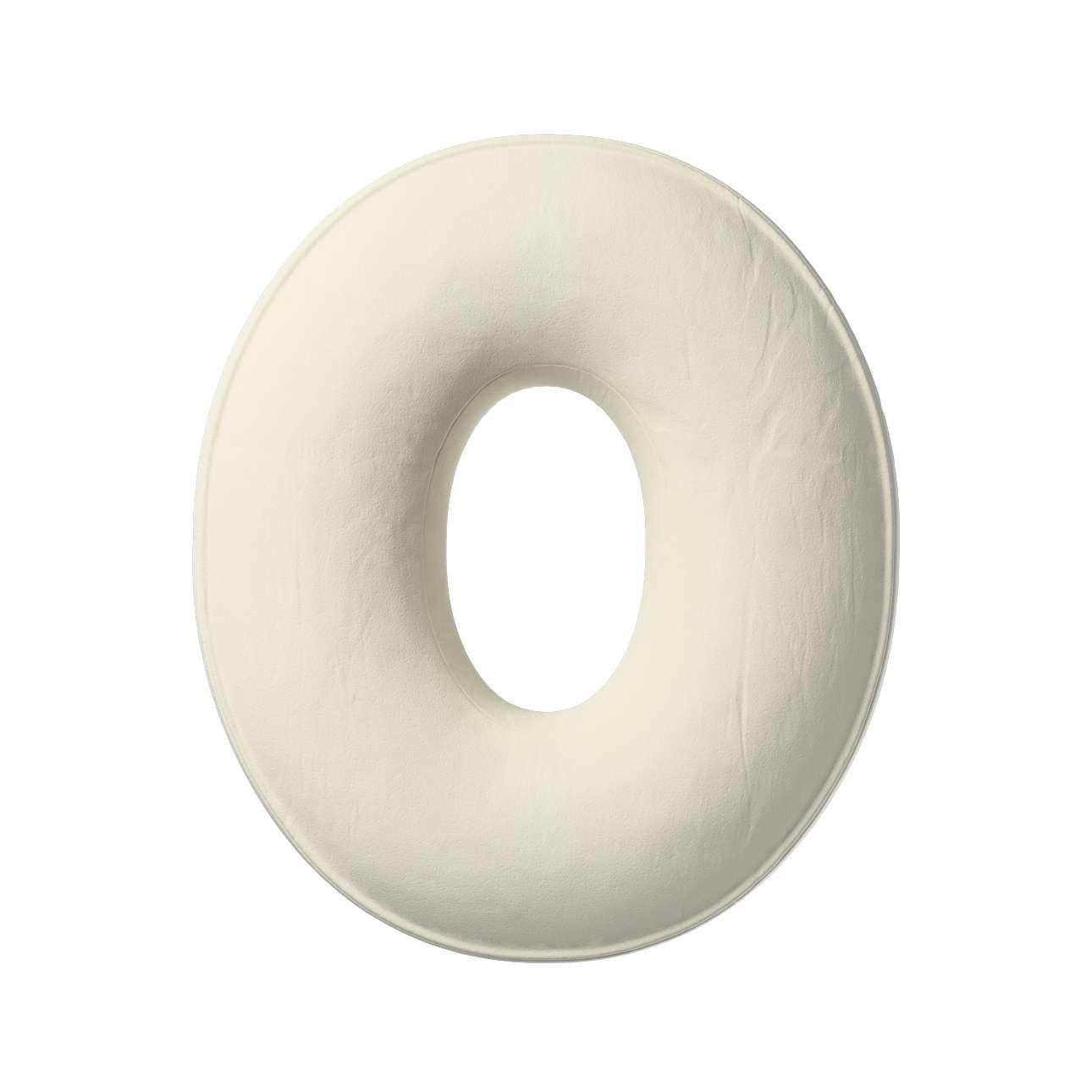Raidė pagalvėlė O kolekcijoje Posh Velvet, audinys: 704-10