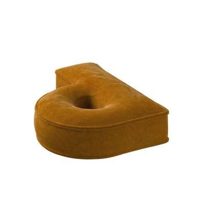 Raidė pagalvėlė P kolekcijoje Posh Velvet, audinys: 704-23