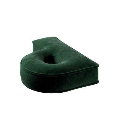 Raidė pagalvėlė P kolekcijoje Posh Velvet, audinys: 704-13