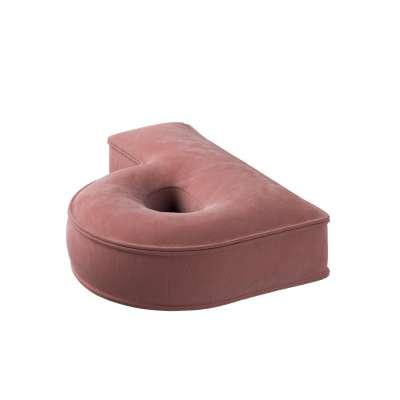 Raidė pagalvėlė P kolekcijoje Posh Velvet, audinys: 704-30