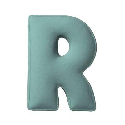 Raidė pagalvėlė R kolekcijoje Posh Velvet, audinys: 704-18