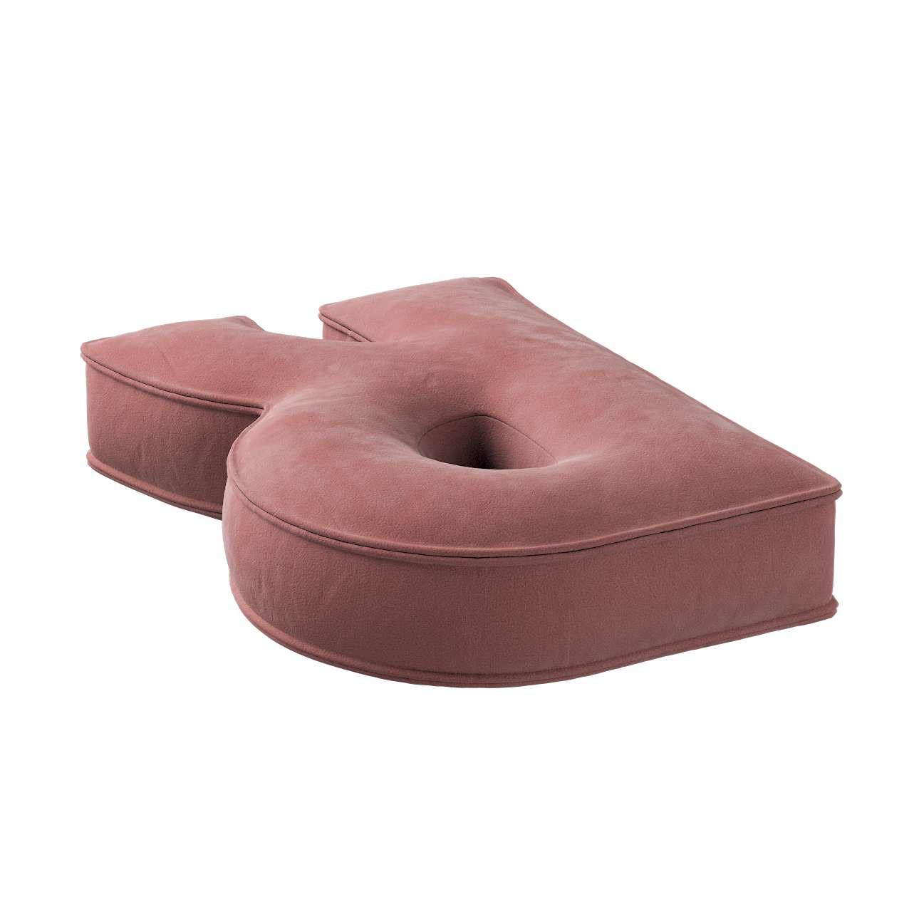 Raidė pagalvėlė R kolekcijoje Posh Velvet, audinys: 704-30