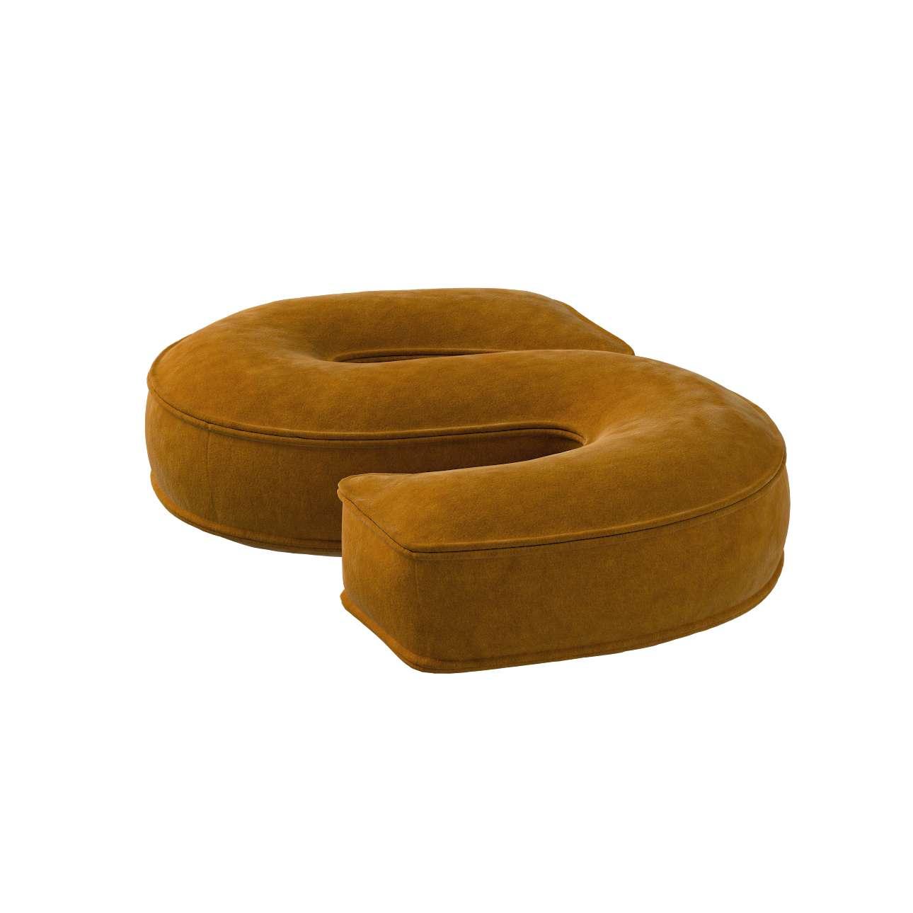 Raidė pagalvėlė S kolekcijoje Posh Velvet, audinys: 704-23