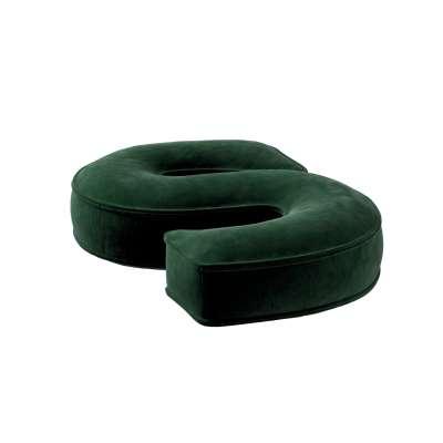 Raidė pagalvėlė S 704-13 žalia Kolekcija Posh Velvet