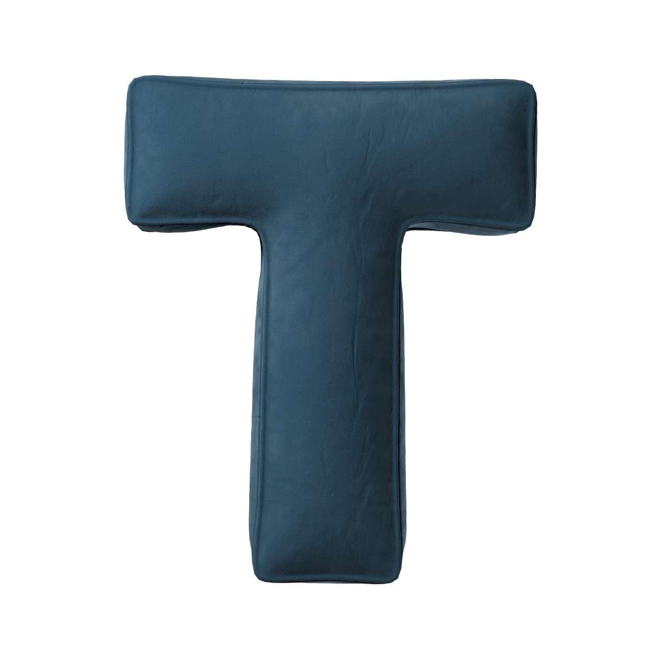 Raidė pagalvėlė T kolekcijoje Posh Velvet, audinys: 704-16